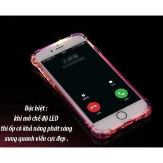 ỐP ĐIỆN THOẠI CHỐNG SỐC PHÁT SÁNG IPHONE