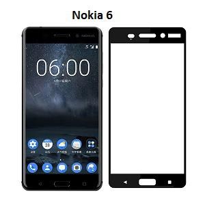 Miếng Dán Cường Lực Full Màn Hình 3D Dành Cho Nokia 6