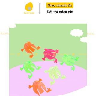 Ếch nhựa bật nhảy đồ chơi trẻ em cho bé trai bé gái phù hợp mọi lứa tuổi 2 3 4 5 6 7 tuổi babyegg baby egg thumbnail