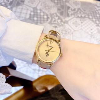 Đồng hồ Burberry nữ dây da kẻ sang sịn - Bảo hành 12 tháng (Đồng hồ BBR.251) thumbnail