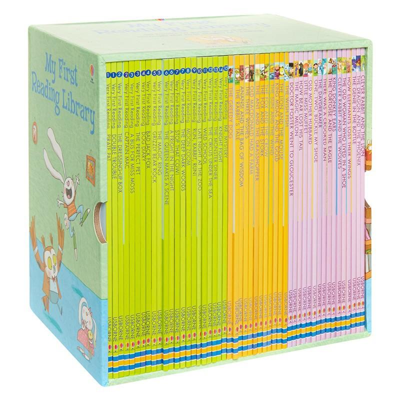 Bộ sách My first reading library SÁCH CHUẨN (Bộ Xanh) bộ 50 cuốn - sách tiếng anh cho bé mới bắt đầu