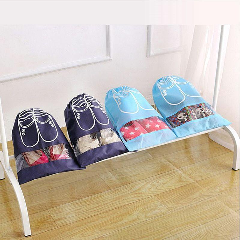 Túi đựng giày dép tiện lợi - chống bụi - chống nước - Size to - tiện lợi đi du lịch - sắp xếp nhà cửa
