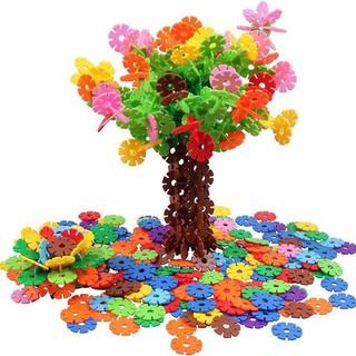 bộ đồ chơi ráp hình hoa sáng tạo