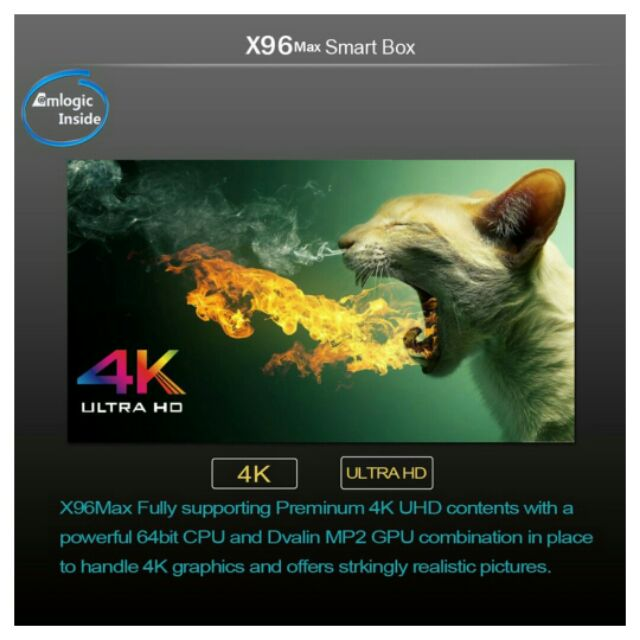 Android TV Box X96 max
