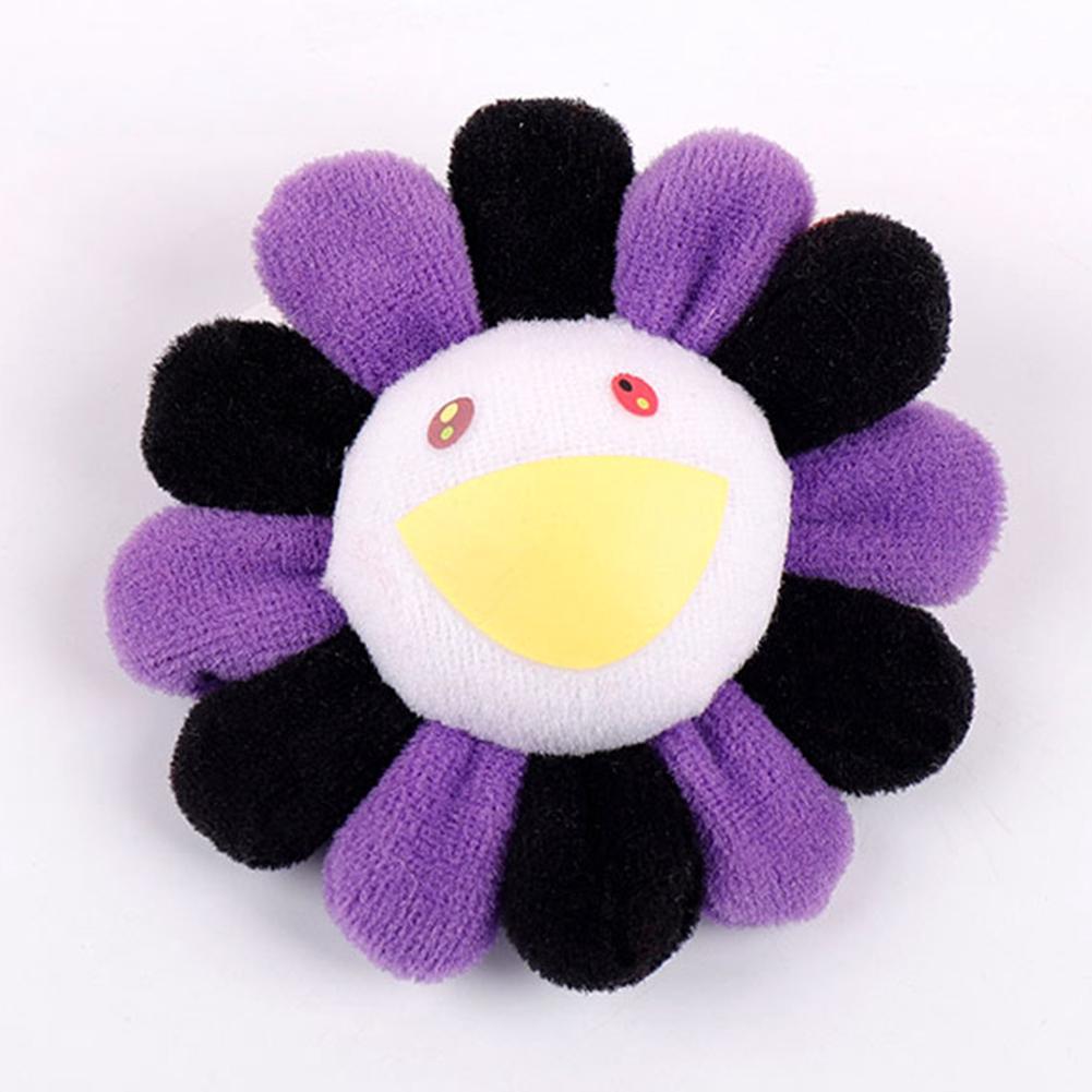 Plush Pendant Cartoon Small Kids Toys Accessories Gift Sun Flower Brooch