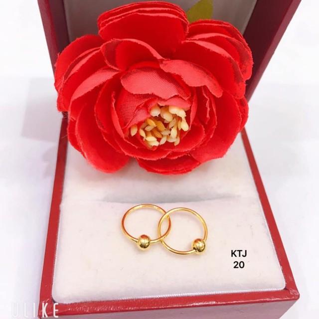 Khuyên Vàng Nhỏ Xinh [NEW] - hoa tai nhỏ xinh vàng 10k Bông Tai/Khuyên Tai