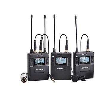Micro không dây UHF cho máy ảnh Comica CVM-WM300A