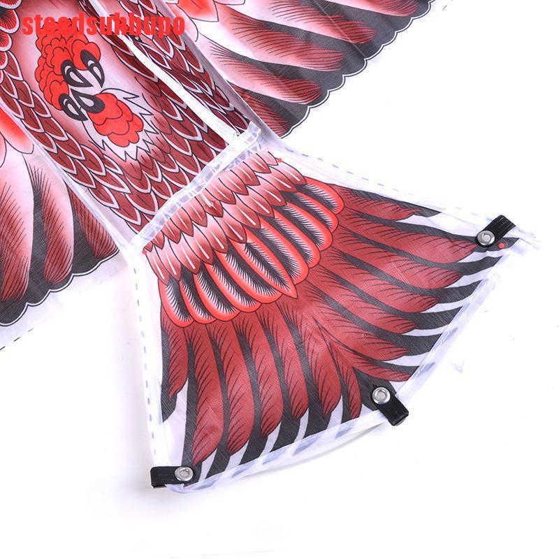 (DSA-COD)1.1m Flat Eagle Kite With 30 Meter Kite Line Kids Flying Bird Kites Outdoor Toys