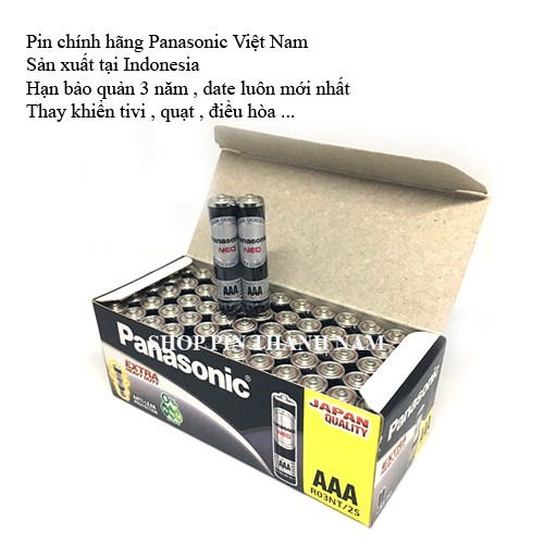 Hộp 30 đôi pin AAA Panasonic đũa NEO R03NT-2S chính hãng