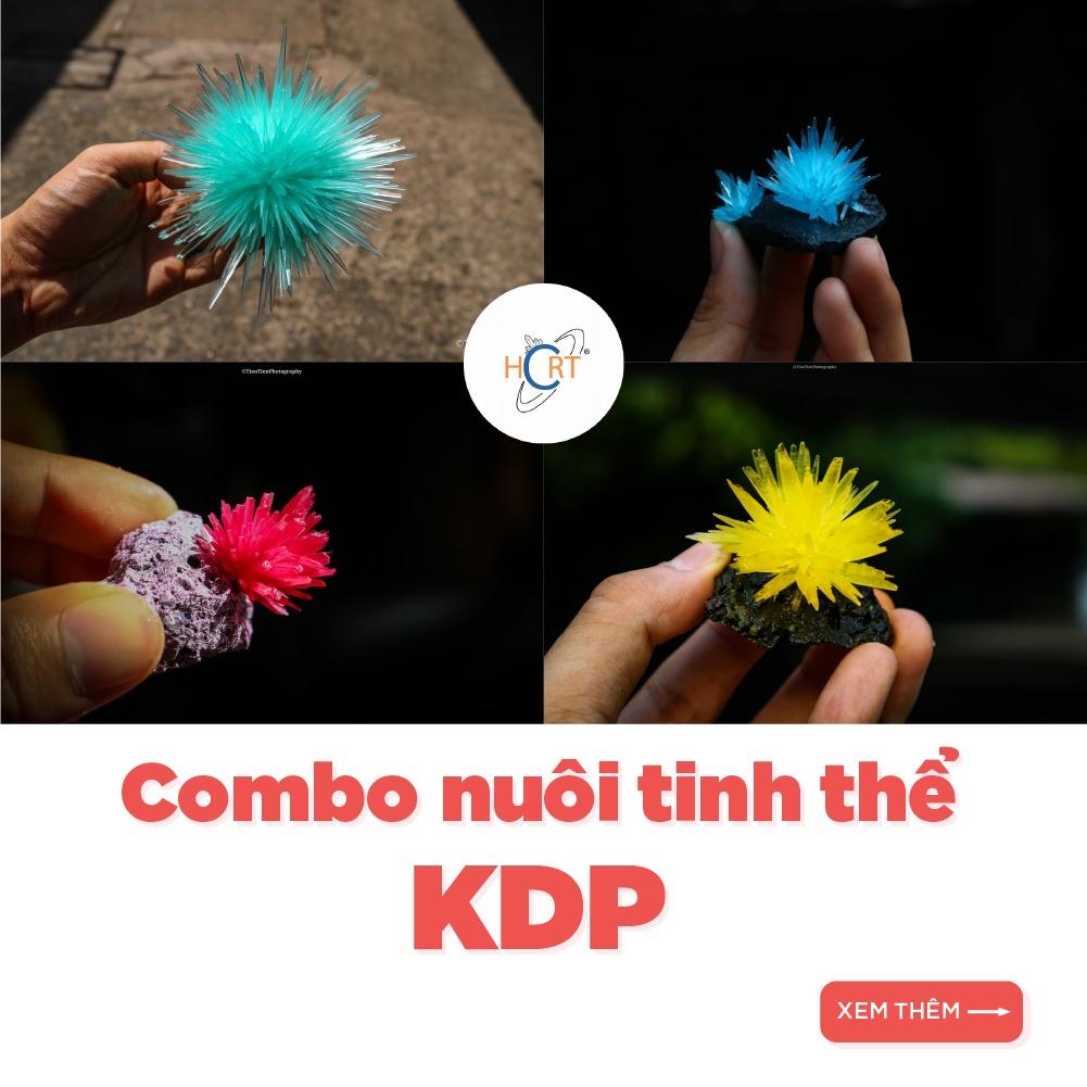 1000g – KDP – Combo nuôi tinh thể KH2PO4 + hướng dẫn | HCRT store – Tinh thể học