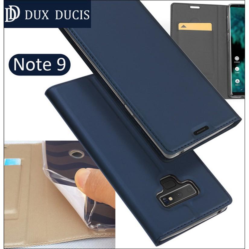Bao da trơn cao cấp cho điện thoại Samsung Galaxy Note 9