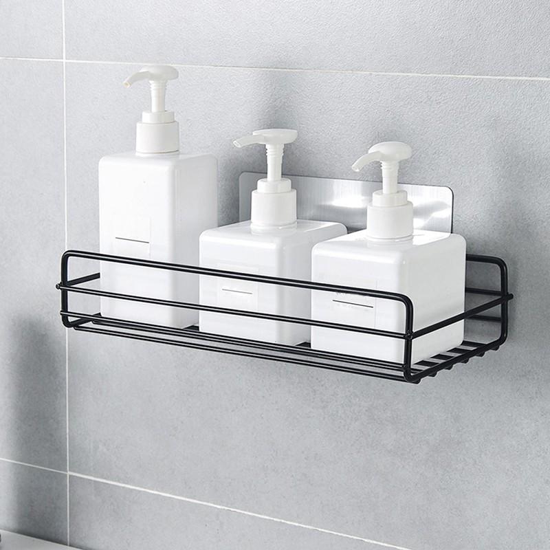 Giá gắn tường đựng đồ dùng đa năng cho nhà bếp/ phòng tắm