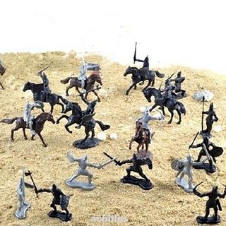 Set 28 Mô Hình Lính Trung Cổ Đồ Chơi Cho Bé