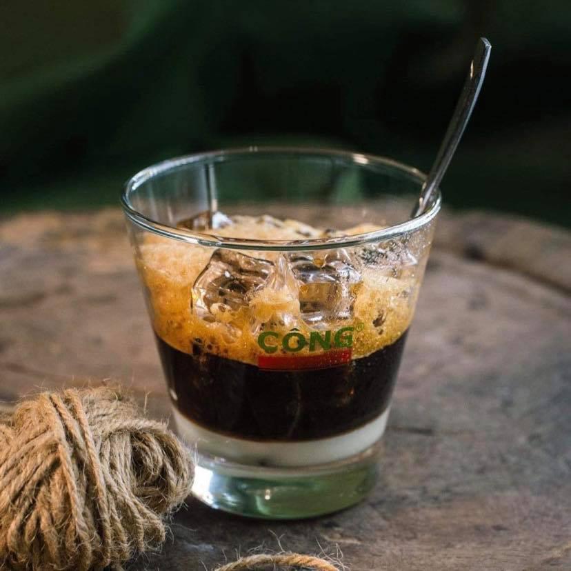 [Chính hãng] Bộ 6 ly cốc thủy tinh loe cafe cốt dừa đẹp UG-391 355ml