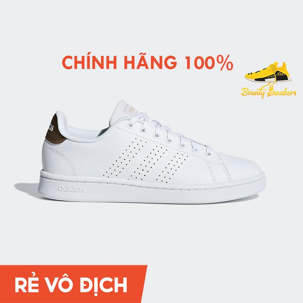 Giày Sneaker Thời Trang Nam Nữ  Adidas Advantage Trắng F36223 - Hàng Chính Hãng - Bounty Sneakers