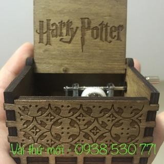 Harry Potter hộp nhạc gỗ giá tốt nhất