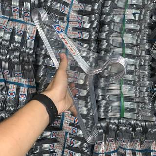MÓC SIÊU RẺ – Móc nhôm loại B quần áo người lớn – Móc nhôm chất lượng – Giá 15,5k . Móc treo quần áo