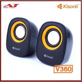Loa 2.0 Kisonli V360 NGUỒN USB thumbnail