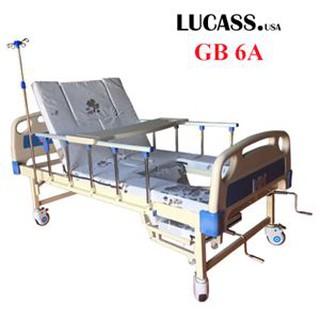 Giường bệnh đa năng 4 tay quay Lucass GB6A