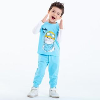 Đồ bộ thun in hình Beddep Kids Clothes cho bé gái từ 1 đến 8 tuổi BP-B19 thumbnail