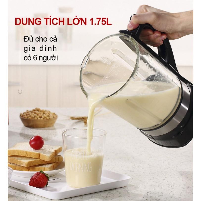 [Mã 267ELSALE hoàn 7% đơn 300K] Máy làm sữa hạt đa chức năng Mishio MK160 - Hàng chính hãng