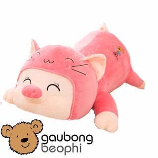 [Nhập TOYFREESHIP Giảm 15%] Lợn bông mềm nằm hàng nhập kiểu dáng ngộ nghĩnh, đáng yêu, quà tặng cho bé