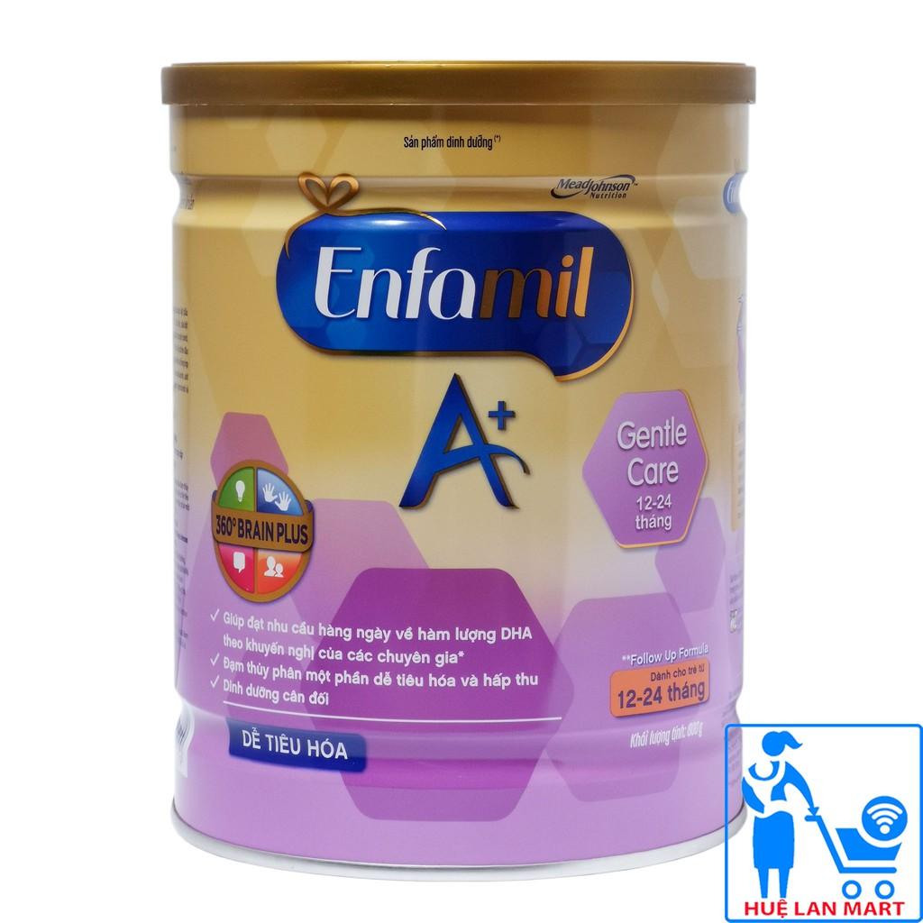 [CHÍNH HÃNG] Sữa Bột Mead Johnson Enfamil A+ Gentle Care 2 - Hộp 800g (Dễ tiêu hóa)