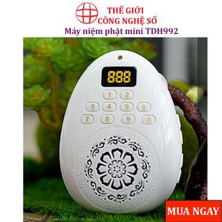 Máy niệm phật mini TDH992, Loa giọt nước có dây đeo cổ , nghe thẻ nhớ, nhạc kinh phật, nhỏ gọn - Bảo hành 6 tháng thumbnail