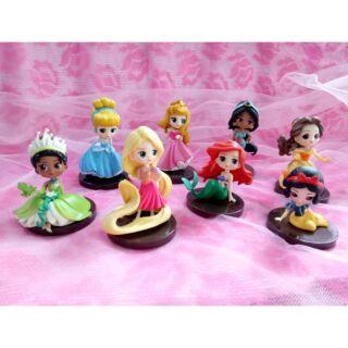 Set búp bê công chúa Disney 8 món