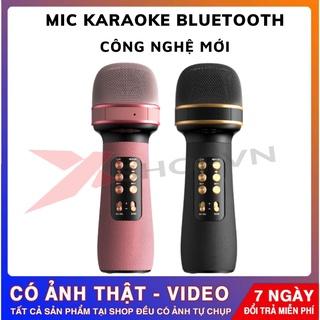 Mic Hát Karaoke Bluetooth Không Dây Công Nghệ Mới Âm vang, Ấm - Micro Không Dây Bluetooth WS-898 Siêu Hot 2021 thumbnail