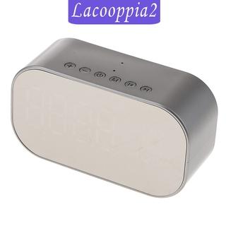 Loa Lapopopia2 Bluetooth Không Dây Tích Hợp Đèn Led Và Đồng Hồ Báo Thức