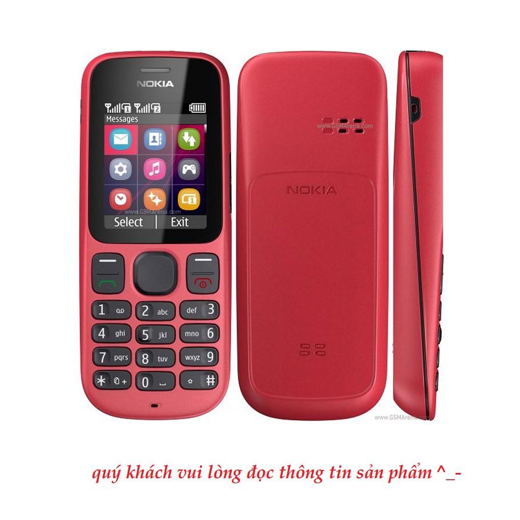 Điện Thoại Nokia 101, Nokia 105 - Máy 2 Sim 2 Sóng Máy Zin Đủ Phụ Kiện Pin Sạc