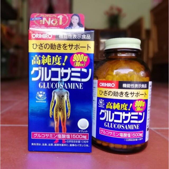 Viên uống Glucosamine 900 viên Nhật Bản, glucosamine 950 viên Nhật Bản