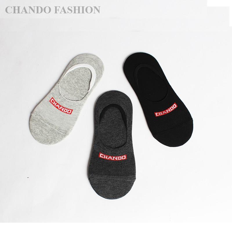 Bộ 3 đôi tất lười nam Chando