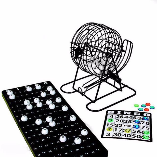 Bộ Trò Chơi Quay Số Bingo Loto Trúng Thưởng Vui Tết