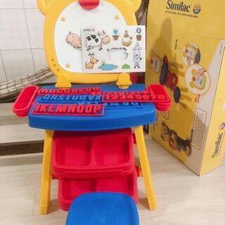 Bộ bàn ghế bảng học nam châm 3in1 Similac