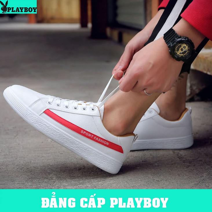 [GIÁ HỦY DIỆT] Giày Sneaker Nam Hàn Quốc - [PLAYBOY](