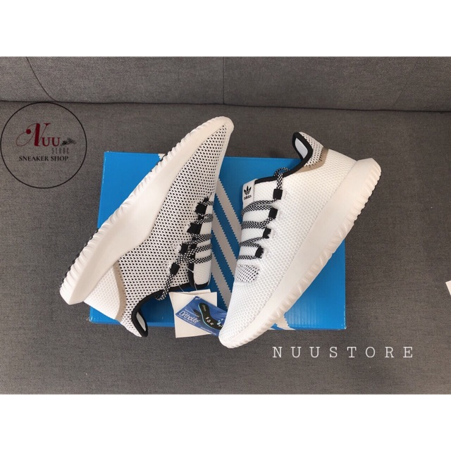[Fullbox] Giày thể thao Adidas Tubular Shadow trắng đen 1:1