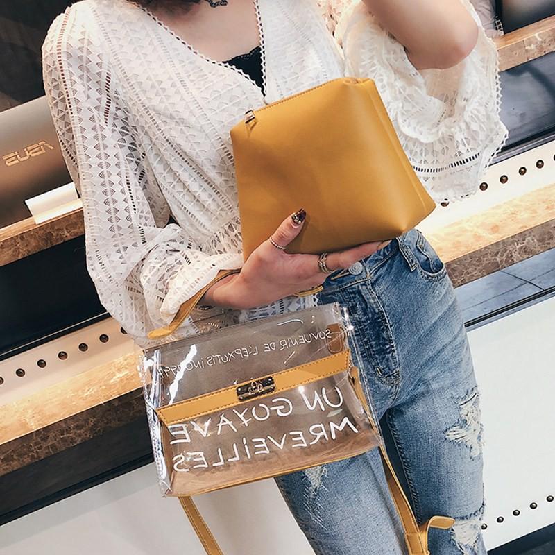 Túi xách nhựa trong Hot    - TXN25