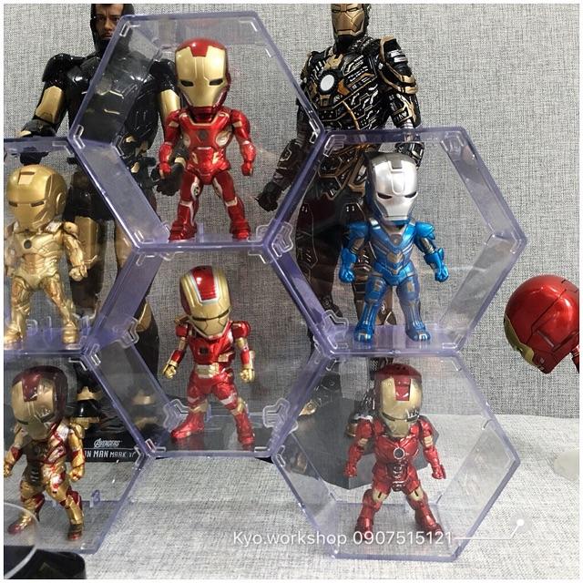 Mô hình Chibi Ironman Warmachine Collection có đèn Led