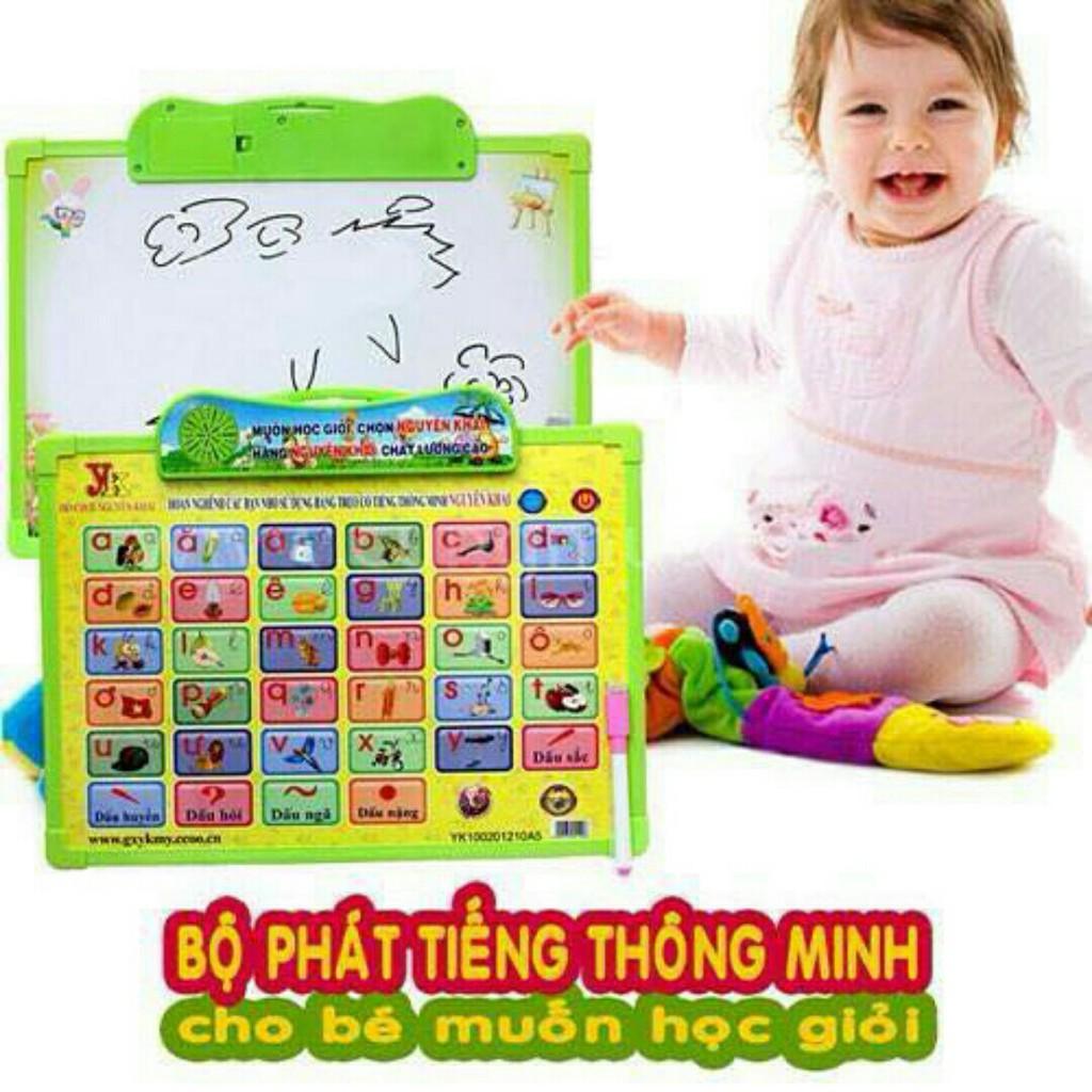 Bảng học chữ cái điện tử thông minh đa năng cho bé GT - 2910890 , 644282239 , 322_644282239 , 85000 , Bang-hoc-chu-cai-dien-tu-thong-minh-da-nang-cho-be-GT-322_644282239 , shopee.vn , Bảng học chữ cái điện tử thông minh đa năng cho bé GT