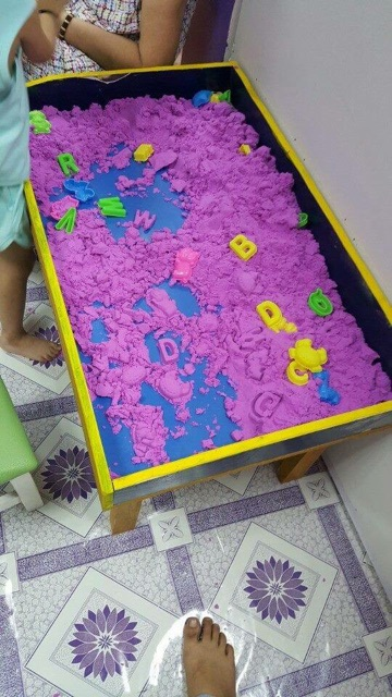 cát động lực vi sinh cho bé