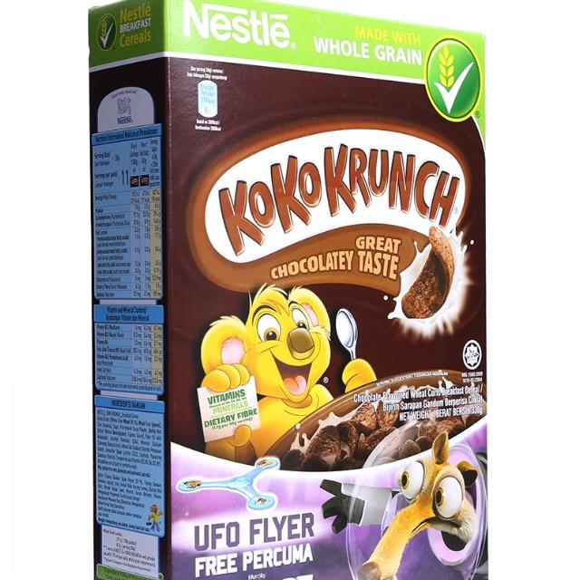 Ngũ Cốc Ăn Sáng Nestle Koko Krunch Hộp 330G vị sô cô la - 2574728 , 861361911 , 322_861361911 , 125000 , Ngu-Coc-An-Sang-Nestle-Koko-Krunch-Hop-330G-vi-so-co-la-322_861361911 , shopee.vn , Ngũ Cốc Ăn Sáng Nestle Koko Krunch Hộp 330G vị sô cô la