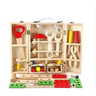 Bộ đồ chơi gỗ thông minh phát triển kỹ năng của trẻ