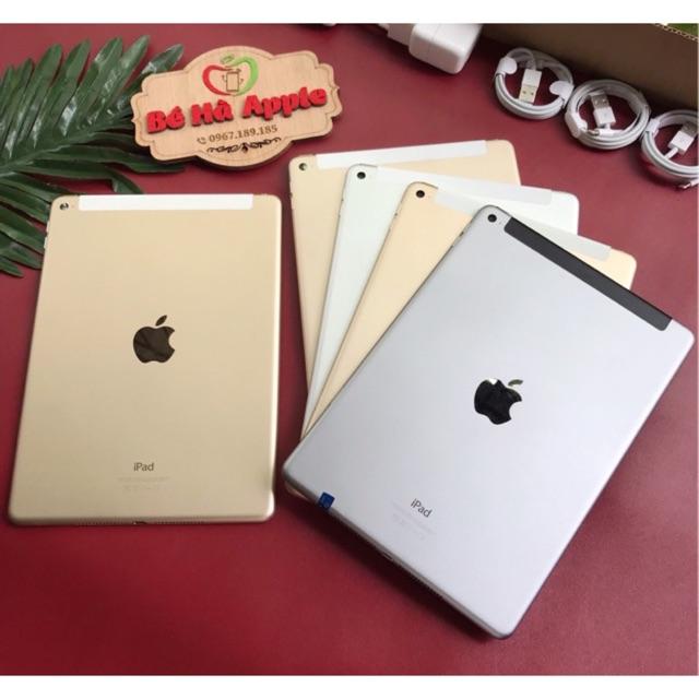 [Mã ELMT1M5 hoàn 6% đơn 1.5TR] IPad Air 2 (Wifi + 4G) 16/32/64/128Gb Zin đẹp 99,9% Như Mới Full Phụ Kiện