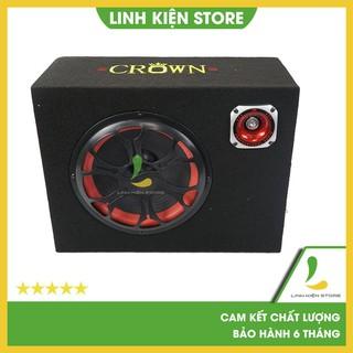 Loa Crown 6 vuông Bluetooth - loa bluetooth công suất 150W