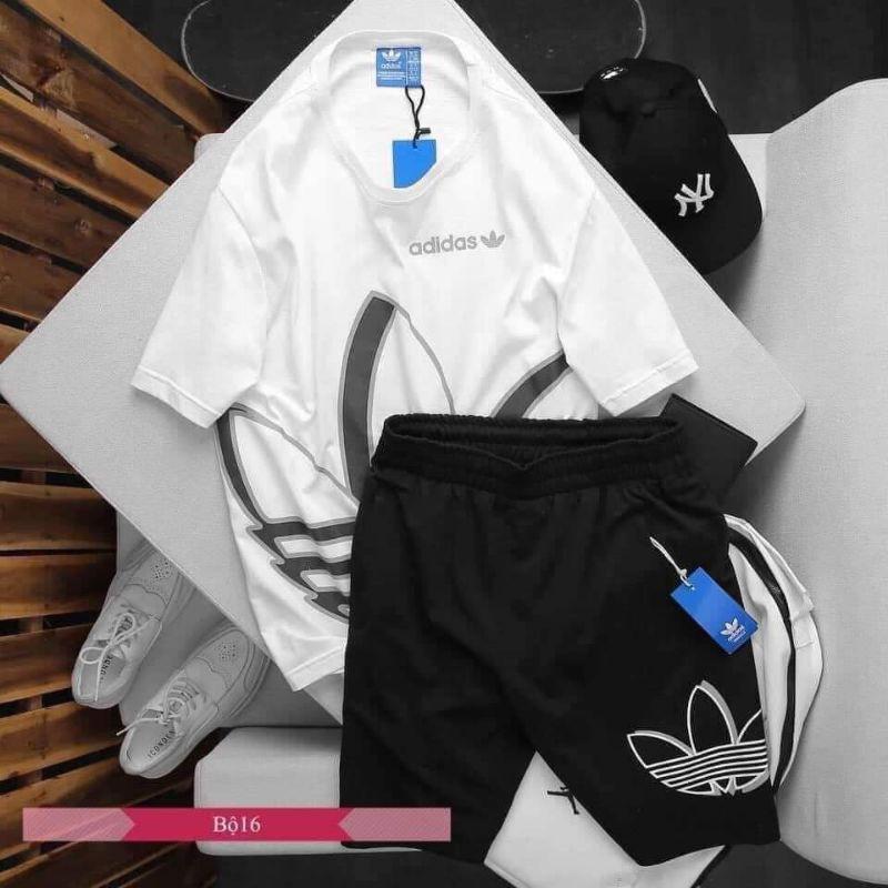 Bộ cộc Adidas dành cho nam ,Quần áo hè dành cho nam