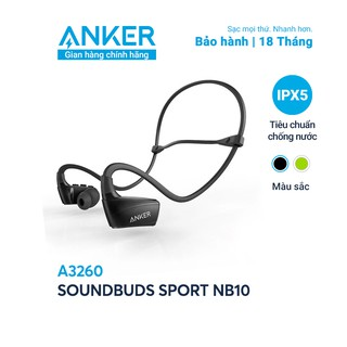 Tai nghe ANKER Bluetooth SoundBuds Sport NB10 - A3260