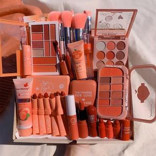 Bộ Trang Điểm Kiss Beauty Tone Cam Đào chủ đạo gồm 13 món Makeup đầy đủ, tặng kèm 1 băng đô siêu xinh.Fowlow shop thumbnail