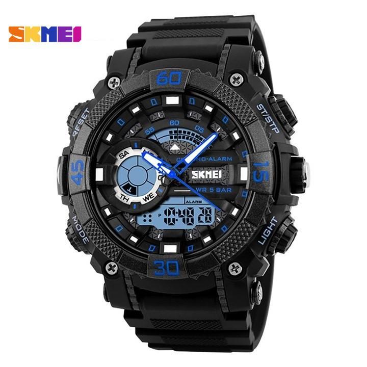 [Xả Hàng] Đồng hồ điện tử nam SKMEI 1228  siêu chống nước đẳng cấp thể thao ,